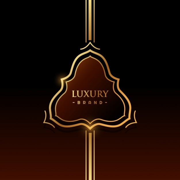 Luxury brand label Vector | Free Download
