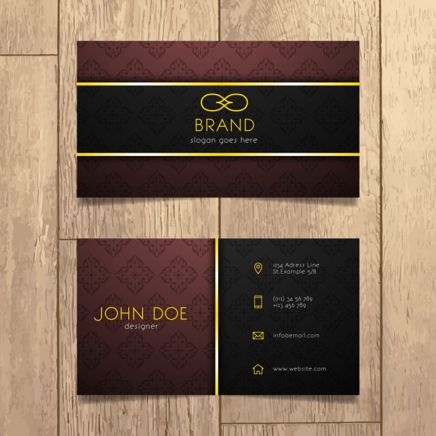 Luxury business card design vector free download luxury business card design free vector colourmoves