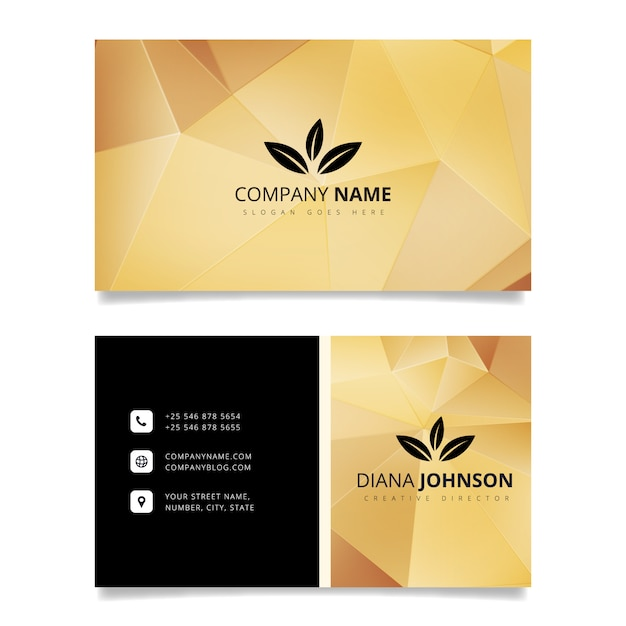Luxury business card design vector free download luxury business card design free vector reheart Image collections