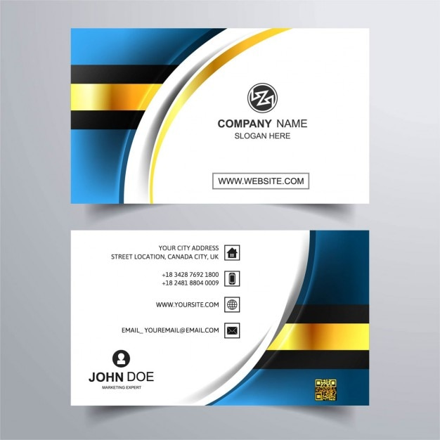 Download vector luxury business card with blue background download vector luxury business card with blue background reheart Images