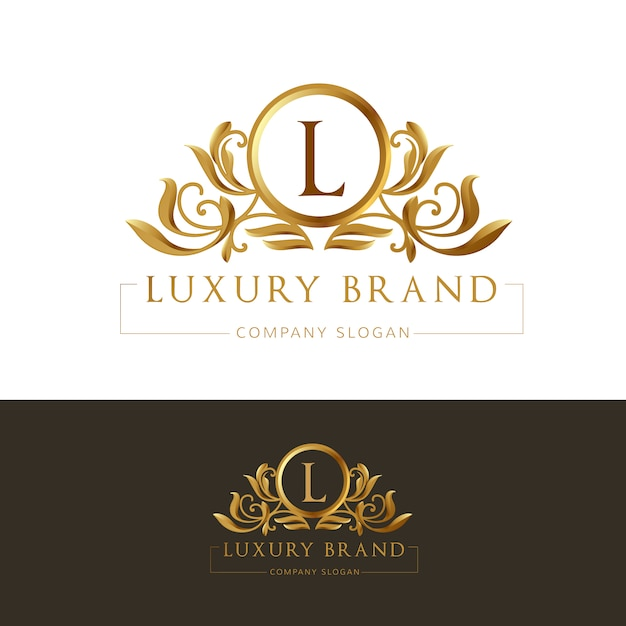 Luxury business logo Vector Free Download
