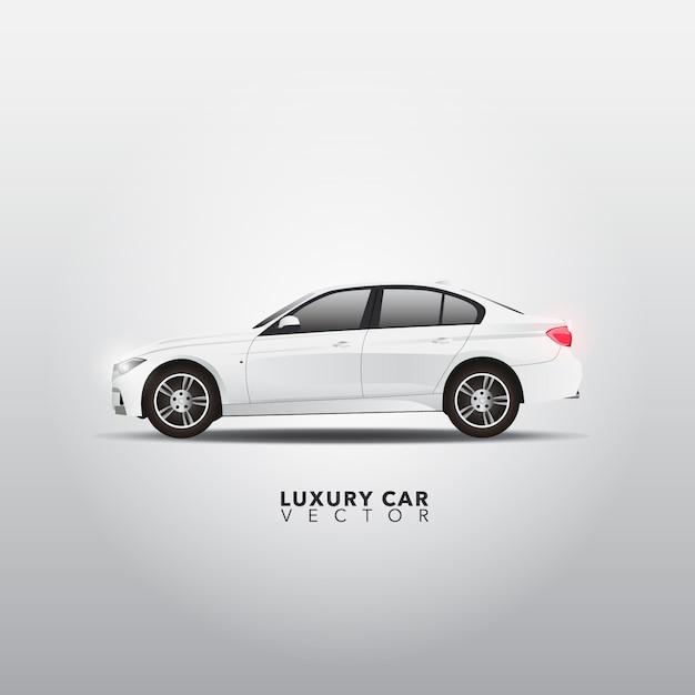 Luxury car design Free Vector