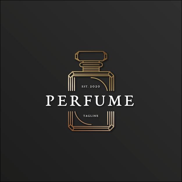 Luxury Perfume Logo Template: Luxury Design For Perfume Logo