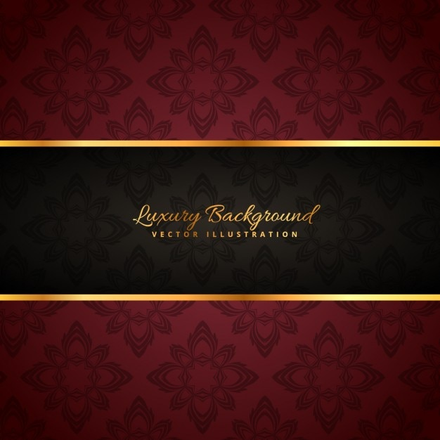 luxury golden background Free Vector