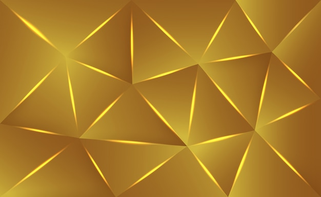 Luxury golden texture background Premium Vector