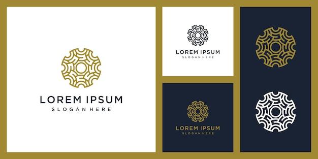 Luxury interior logo design inspiration   Premium Vector