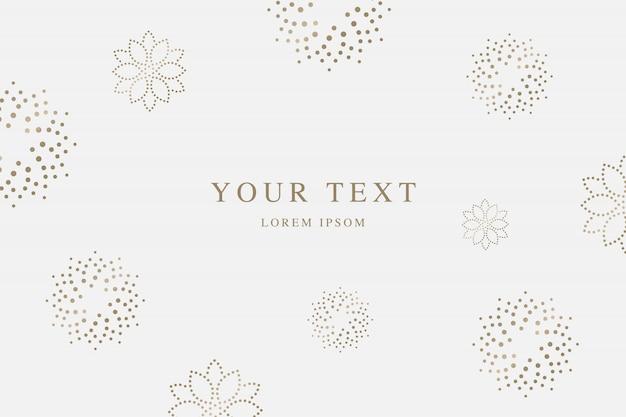 Luxury  invitation card Premium Vector