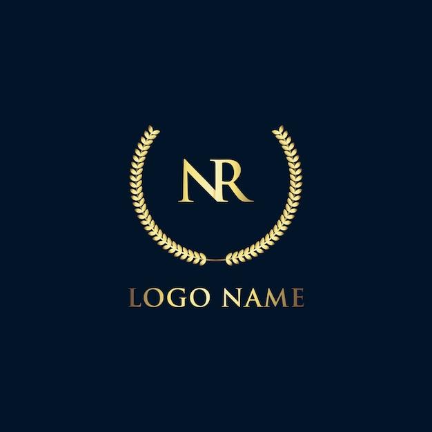 Luxury logo template Premium Vector