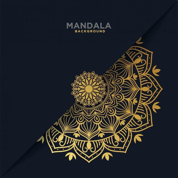 Luxury mandala background Premium Vector