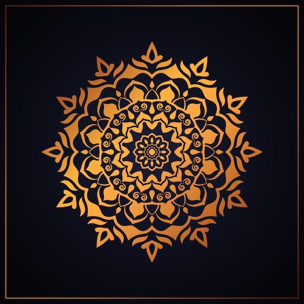 Luxury mandala pattern Premium Vector
