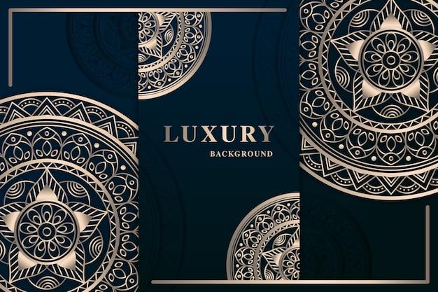 Luxury mandala screensaver Free Vector