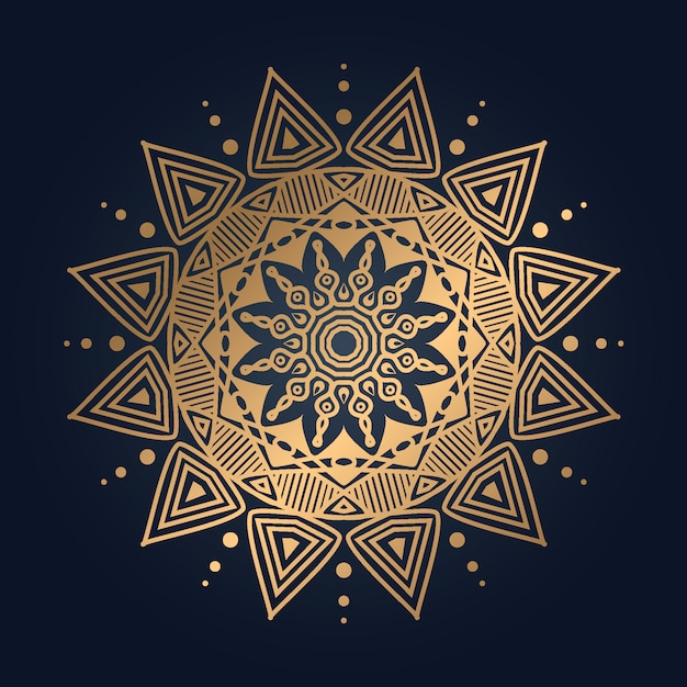 Luxury mandala Premium Vector
