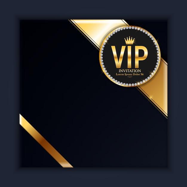 luxury members gift card background  premium vector