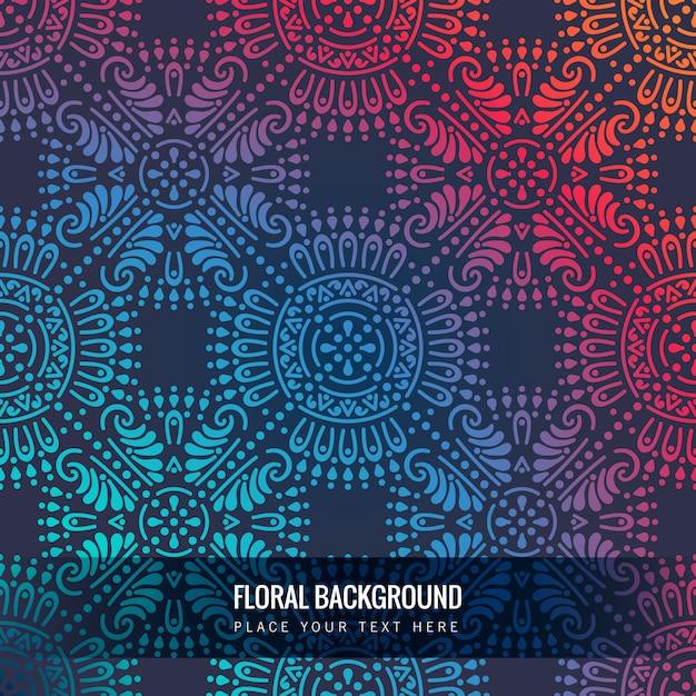 Luxury ornamental mandala background Free Vector