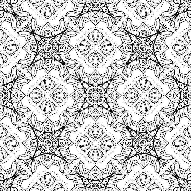 Luxury ornamental mandala background Premium Vector