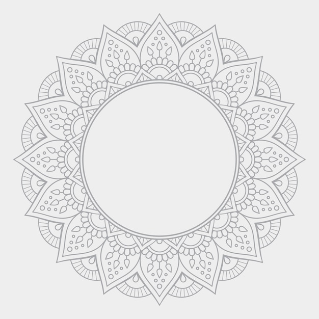 Luxury ornamental mandala design background Free Vector