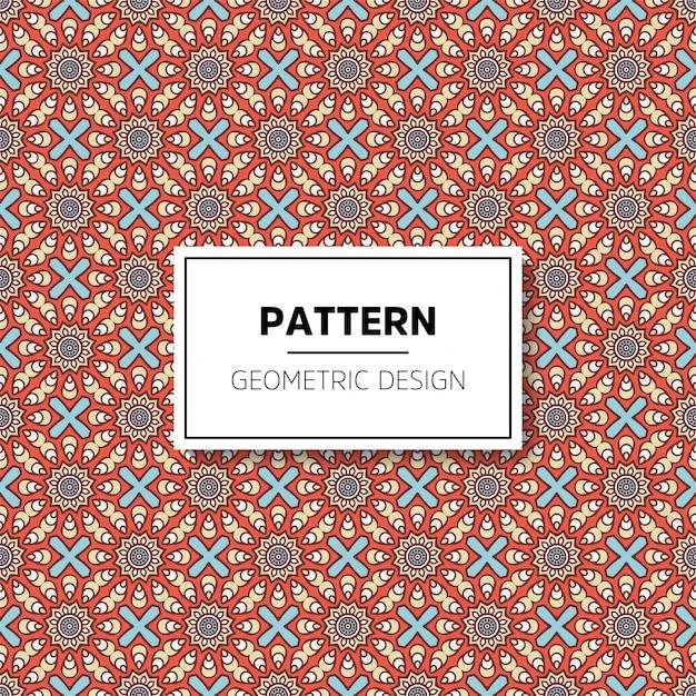Luxury ornamental mandala design background Free Vector