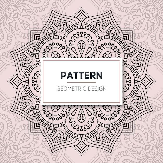 Design mandala ornamentale di lusso Vettore gratuito