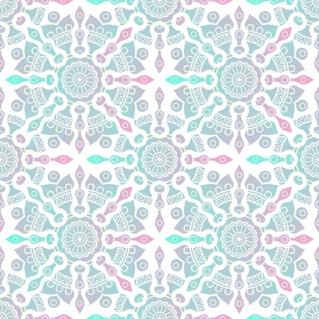Luxury ornamental mandala pattern Premium Vector