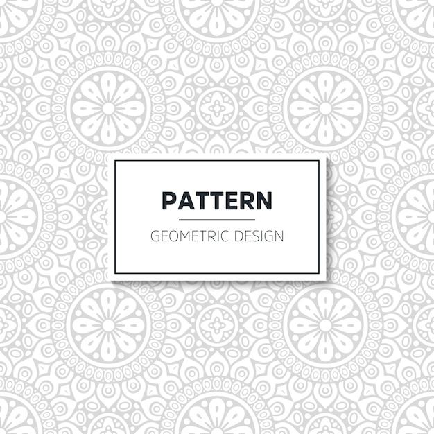 Luxury pattern mandala design Free Vector