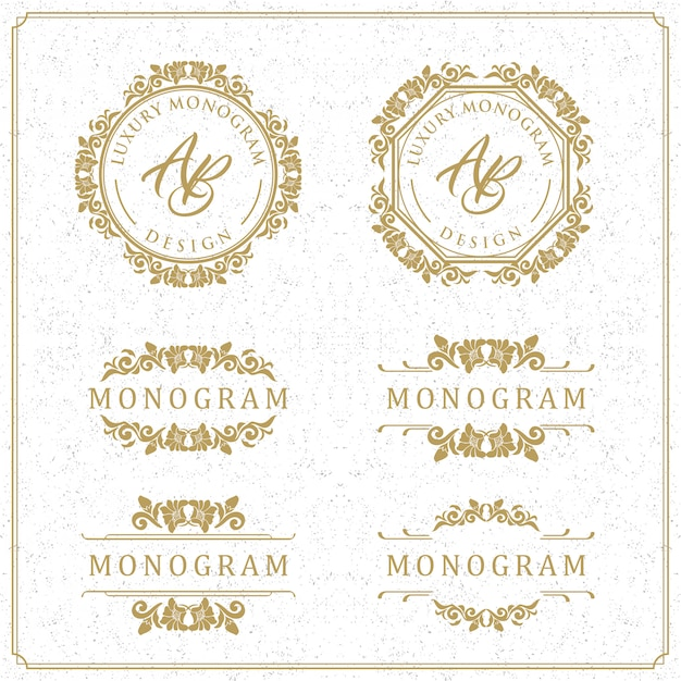 Luxury template design for wedding and decoration Premium Vector