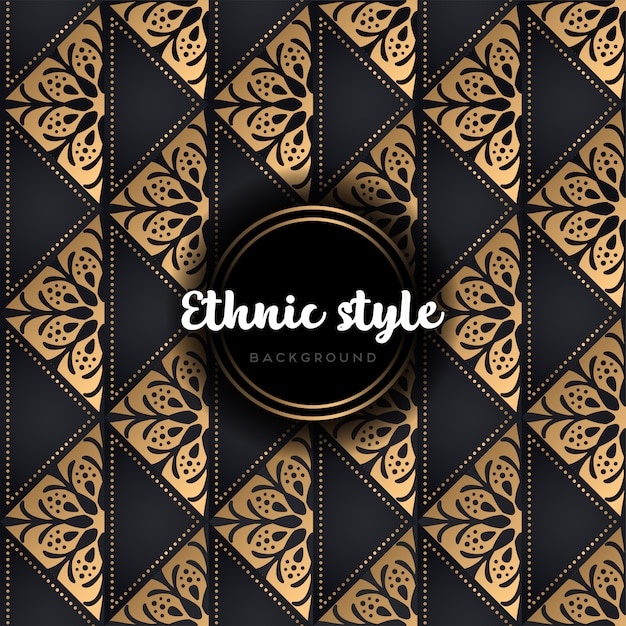 Luxury vector pattern Premium Vector
