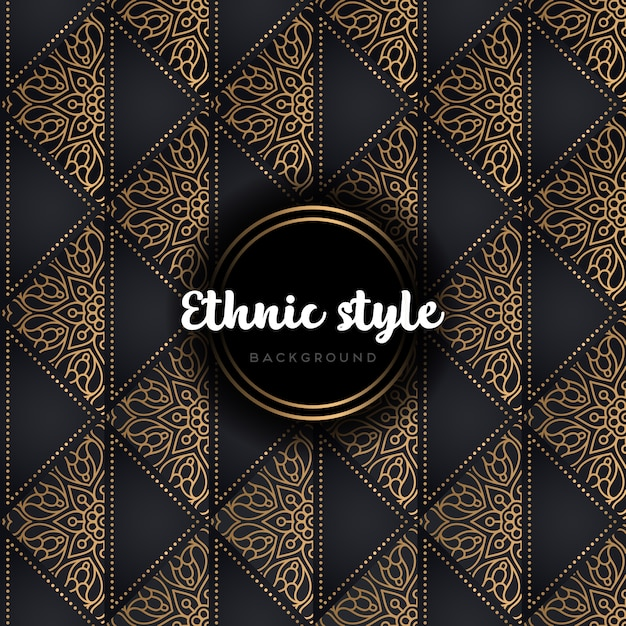 Luxury vector pattern Free Vector
