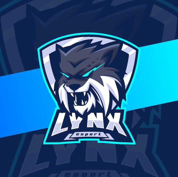 premium vector lynx mascot esport logo design https www freepik com profile preagreement getstarted 6885528
