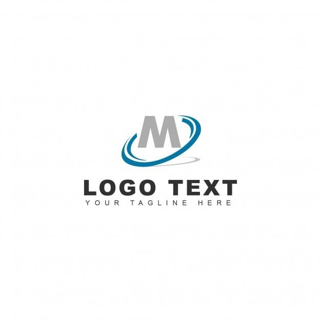 M letter logo Free Vector