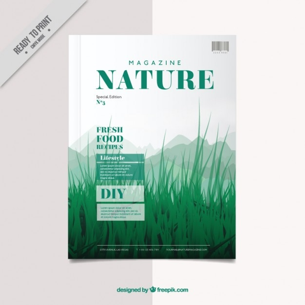 magazine cover templates free