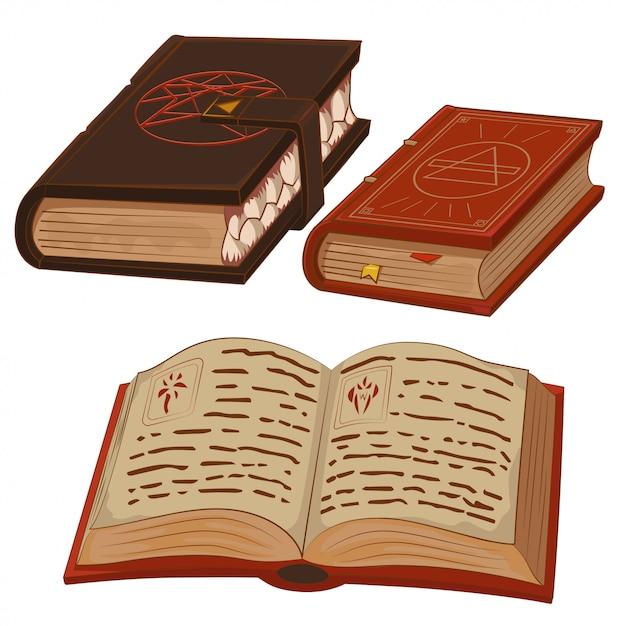 Magic books Vector | Premium Download