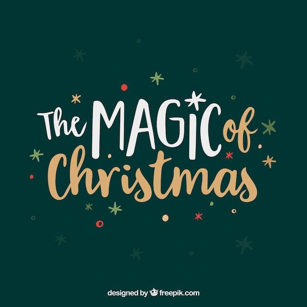 Magic Of Christmas.The Magic Of Christmas Vector Free Download