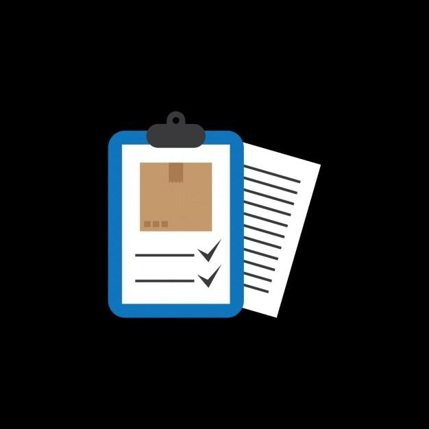 Mail Delivery Checklist Design Vector Free Download