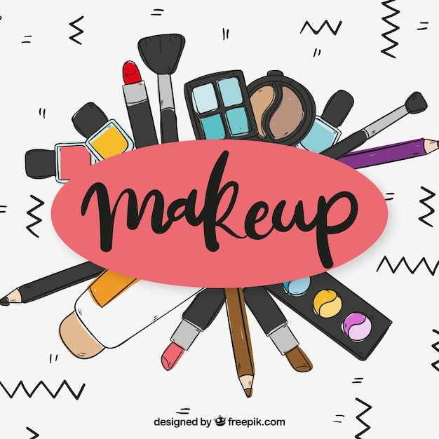 Free Download: fashion,beauty,hand drawn,beauty salon,tools,elements,cosmetic,make up,product,nail,salon,mirror,perfume,lipstick,care,female,accessories,lip,glamour