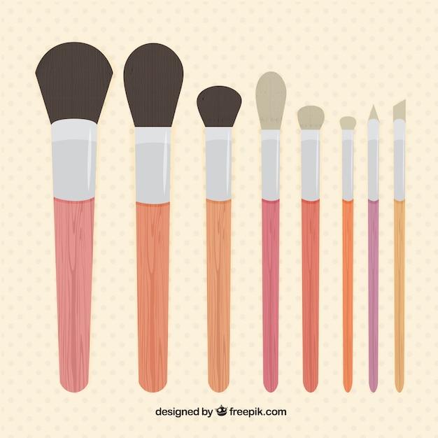 makeup brush vector - photo #7