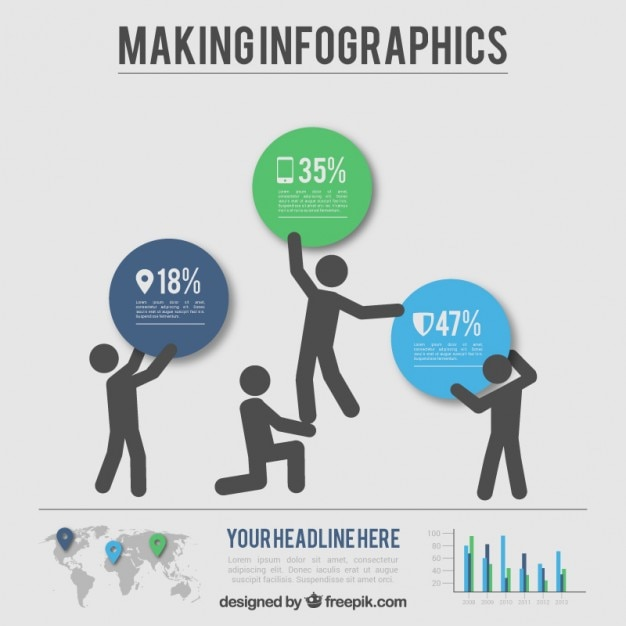 Infographic Ideas making infographics free : Making infographics Vector | Free Download