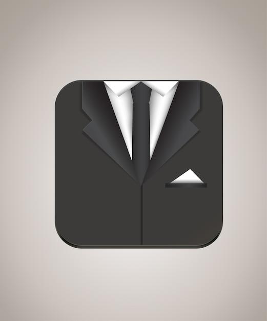 Man suit icon vector illustration Vector