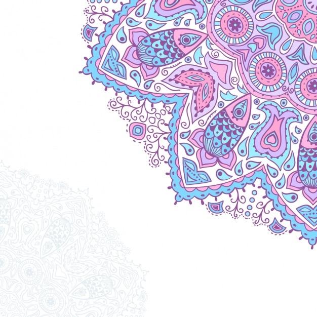 Mandala Background Design Vector Free Download