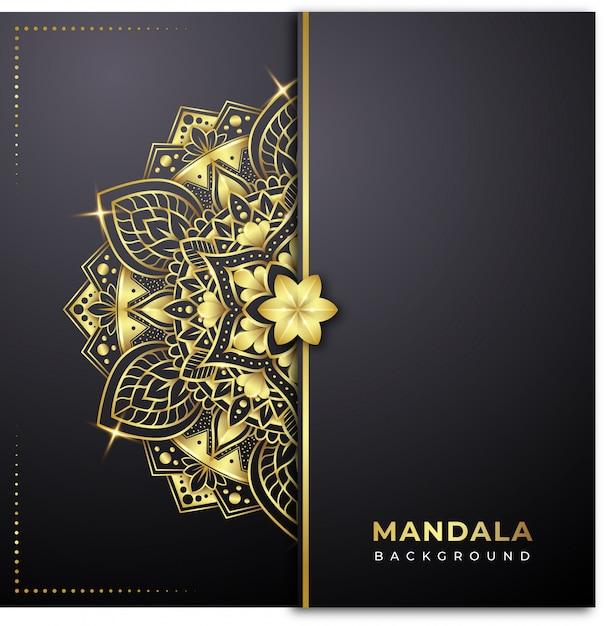 Mandala background Premium Vector