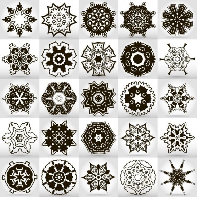 Download Vector Mandala Designs Collection