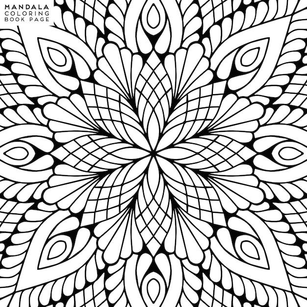 Mandala. этнические декоративные элементы | Премиум векторы