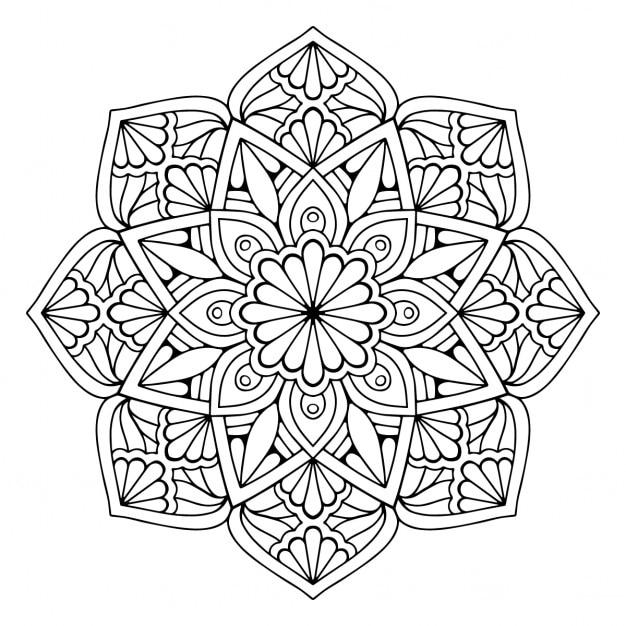 Mandala, floral Vector | Free Download