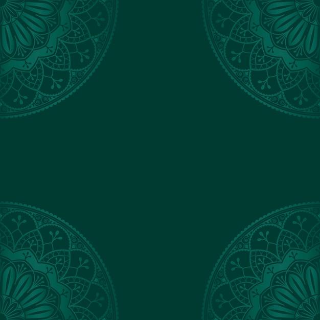 background hijau islami