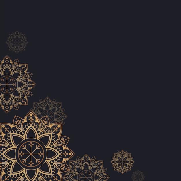 Mandala illustration Free Vector