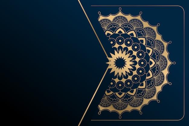 Mandala luxury background Free Vector