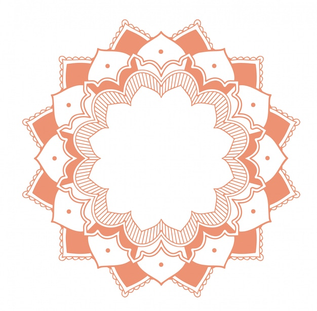 Mandala patterns Free Vector