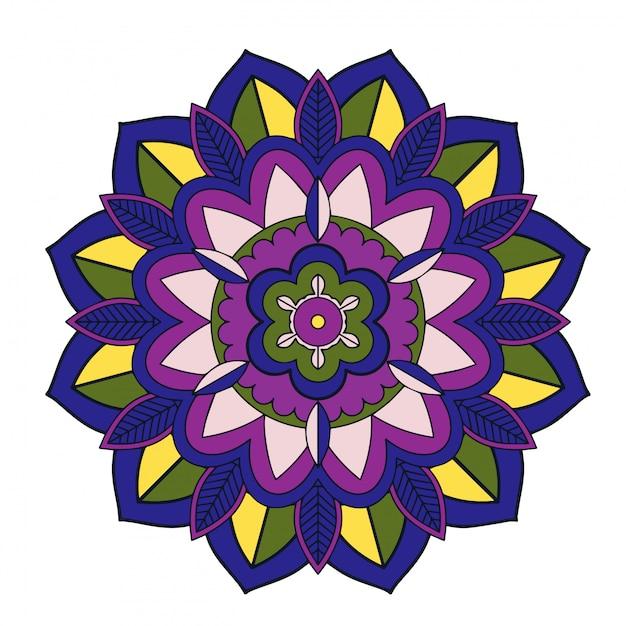 Mandala patterns Free Vector