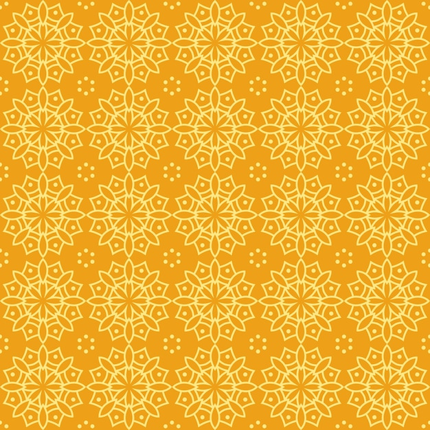 Mandala Seamless Pattern Background Wallpaper. Elegant