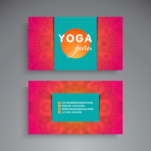 Yoga business card militaryalicious yoga business card reheart