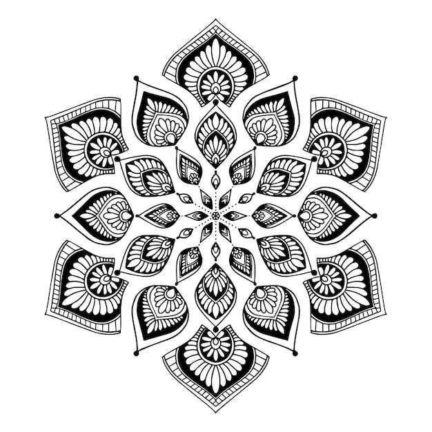 Mandalas for coloring book. Oriental vector, Anti-stress therapy ...